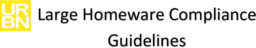 Large Homeware Compliance Guideline Header
