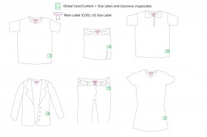 Apparel Global Care + Size Placement